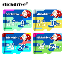 New Christmas styles Micro SD Card 8GB class 10 mini sd card 16GB 32GB 64GB Memory Card Flash TF Card for cell Phones Tablet