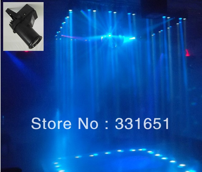 8pcs/Lot Group Shopping Cheap Price RGBW Quad LED PinSpot Light 6 DMX Channels ZOOM<br>