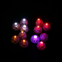 Wholesale 100Pcs/lot Round Led Ball Lamps Balloon Lights Lantern Christmas Wedding Party Decor