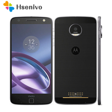 Original Unlocked Motorola MOTO Z XT1650-1 Mobile Phone Android 4GB RAM 32GB ROM 5.5'' 13.0MP NFC 2560*1440 4G LTE Moto 2600mAh(China)