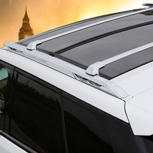 Aluminium roof baggage luggage rack bar and crossbar for Land Rover Range Rover Sport 2014 2015 2016 2017 good quality(China)