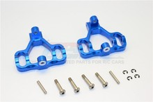 HPI SAVAGE FLUX / FLUX XL ALLOY FRONT/REAR C-HUB WITH STEEL KING PIN&SCREWS&WASHERS - SET (SAV, SAX) SAV1019