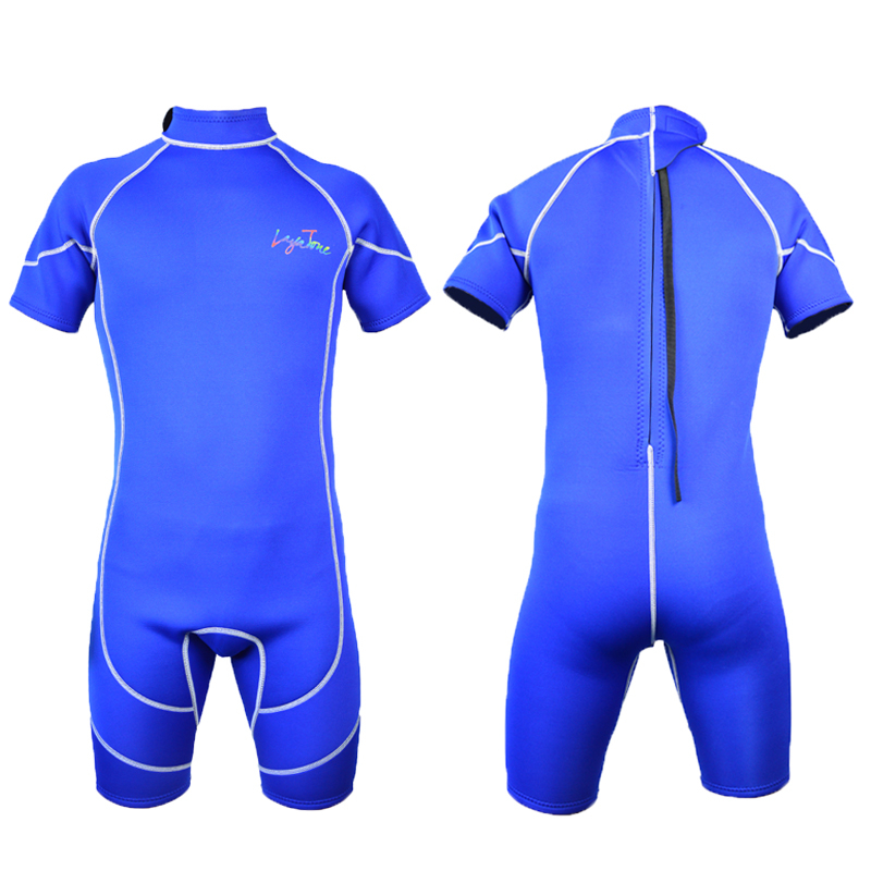 Layatone short neoprene wetsuit swimsuit 3mm for triathlon surf scuba diving snorkeling B1618<br>