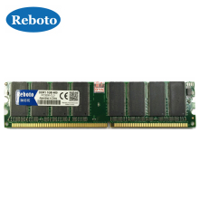 Brand New Ram DDR1 2GB kit(2*DDR1 1GB) pc3200 ddr400 DIMM support ddr333 pc2700 For Desktop Ram Memory / Free Shipping