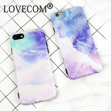 LOVECOM High Quality Fashion Dream Space Stars Protective Phone Case For Iphone 6 6S 7 7 Plus Soft IMD Phone Back Cover Coque