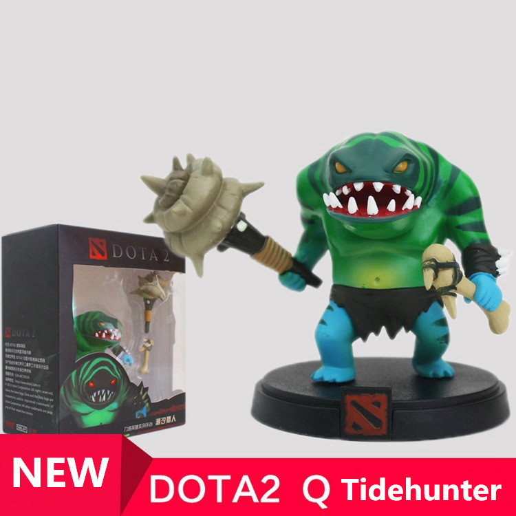 wholesale 1pcs Tidehunter  DOTA 2 Figure heros  CM FV PVC Action Figures Collection dota2 Toys best gift  free shipping<br>