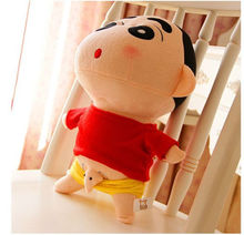 candice guo! hot sale Q expression Crayon Shin chan plush toy JJ elephant lover birthday gift 35cm 1pc