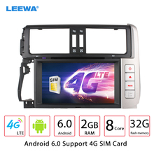 "8"" Android 6.0 (64bit) DDR3 2G/32G/4G LTE Octa Core Car DVD GPS Radio Head Unit For Toyota Land Cruiser Prado Fourth generation"