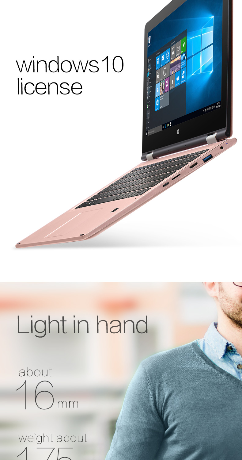 VOYO VBOOK Series V3 Ultrabook Table PC 13.3 inch Touchscreen Computer i7 6500U Laptop Intel Core Dual With 8GRAM+256GSSD