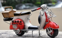 1959 Classic Motorcycle Model 100% Handmade Iron Sheet Model VESPA GS 150 1:12 Retro Metal Piaggio Scooter Decoration Sheep Kid