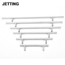 Diameter 12mm and 10mm Stainless Steel Handles Kitchen Door Cabinet T Bar Straight Handle Pull Knobs Hardware Furniture
