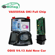 Newest ODIS V4.13 VAS 5054A Full Chip With OKI VAS5054A Bluetooth Support UDS Protocol VAS 5054 For VW Group Car Diagnostic Tool
