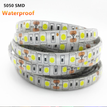 Waterproof RGB LED Strip Light 5050SMD Led Stripe Flexible String Ribbon Led Tape DC12V Holiday Christmas Decoration ip65 1/4/5m