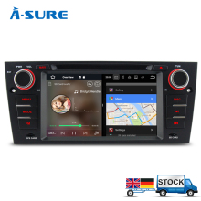 "A-Sure 7"" Android 7.1 Ouad Core Car GPS DVD CD Radio player for BMW 3 Series E90 E91 E92 E93 M3 3G WIFI DAB+ Navigation Sat Nav(Hong Kong)"