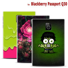 Handmade Print Case for Blackberry Passport Q30 Fashion 22 Patterned Cartoon Prints Cell Phone Skin Cover Plastic Back Cover Bag