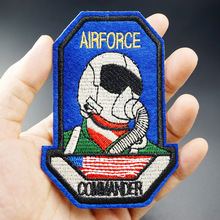 AIRFORCE Size:7.2x10.2cm DIY Badge Patch Embroidered Applique Sewing Patch Clothes Stickers Garment Apparel Accessories Patches