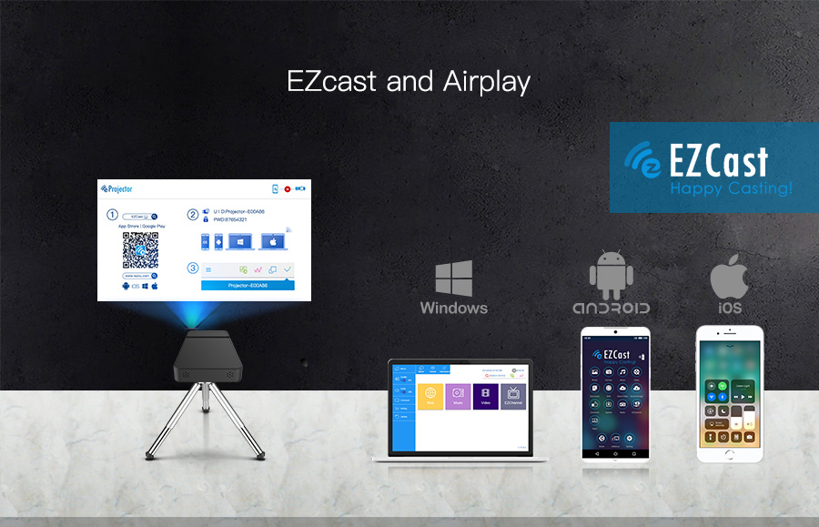 4-EZcast and Airplay