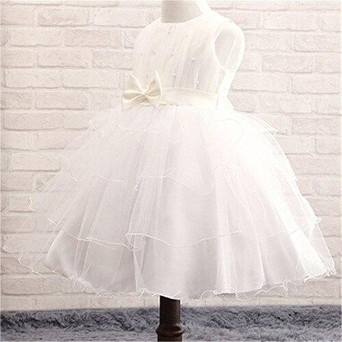 2016 New Girls Dresses Bowknot Dress Kids Ball Gown Costume Children Clothing Summer Girl Wedding Dress Princess Party Dress<br><br>Aliexpress