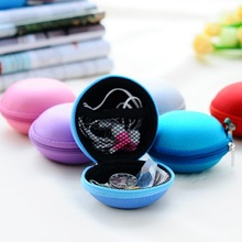 Super Deal Storage Box  Mini Earphone SD Card Macarons Bag Storage Box Case Carrying Pouch