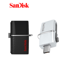32GB Original Sandisk Ultra OTG Usb 3.0 Dual Purpose Mini Usb Memory Flash Smartphone Micro Pen Drive Android Pendrive