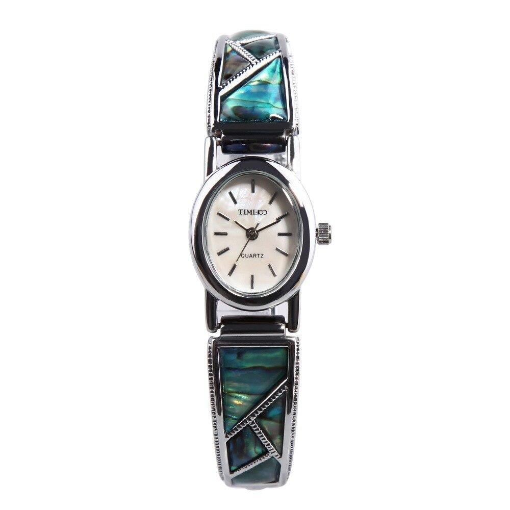 New TIME100 Women Quartz Watch Rhinestone Jewelry Clasp Alloy Band Shell Dress Bracelet Watch Gift Relogio Masculino Reloj Mujer<br>