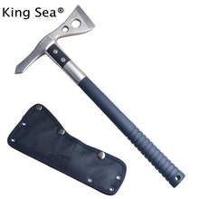 King Sea Tactical Tomahawk Axe Tomahawk Army Outdoor Hunting Camping Survival Machete Axes Hand Tool Fire Axe Hatche(China)