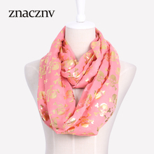 Winter warm brand scarf woman fashion popular Comfortable neck ring scarf skull pattern
