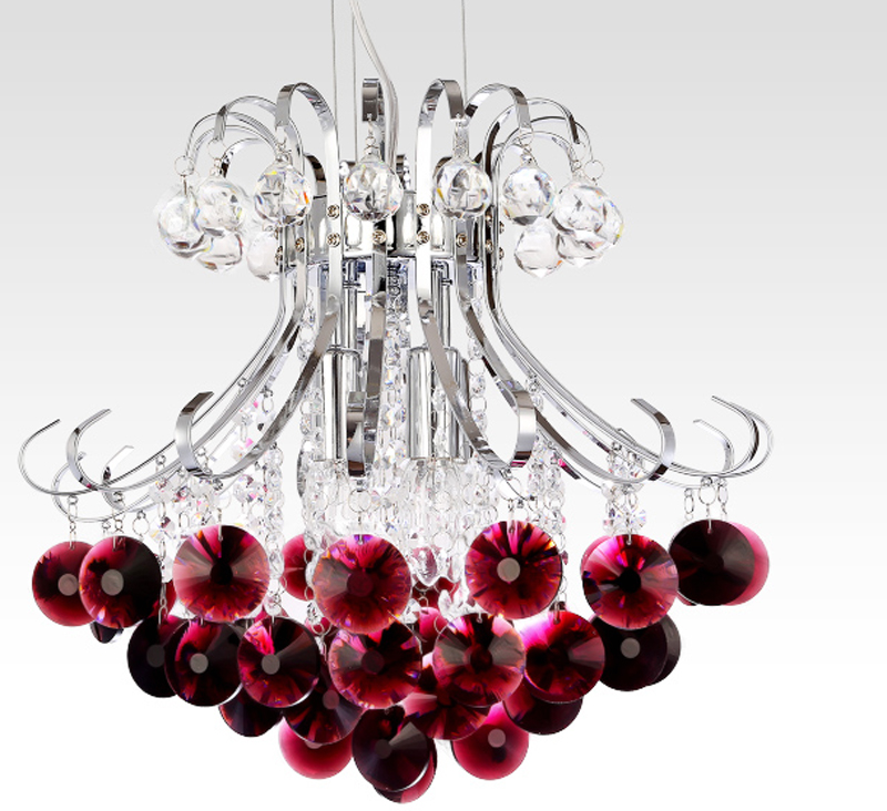 Modern Crystal Chandelier  lustres de cristal LED haning lamp Wedding Home Decoration Lights Fixture<br><br>Aliexpress