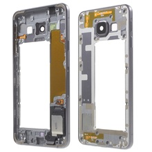 Original OEM Middle Housing Frame with Small Parts for Samsung Galaxy A3 SM-A310F (2016) - Grey