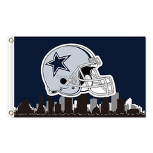 Dallas Cowboys Champions Flag 3ft x 5ft Polyester 90X150cm world series 2016 jersey Dallas Cowboys flag(China)
