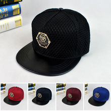 2017 Fashion New qp Pattern Baseball Cap Hat Bones Gorras Snapbacks Net Hats Personality Hip Hop Caps For Men And Women W298