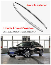 Auto Roof Racks Luggage Rack For Honda Accord Crosstour 2011-2017 High Quality European Version Aluminum Screw Installation