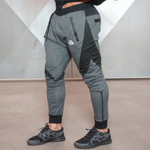Men Fitness Gyms Full Length Pants Sweatpants Fashion Trousers Casual Workout Pants Sporting Workout Jogger Cotton Pants