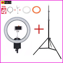 NanGuang CN-R640 R640 Photography Video Studio 640 LED Continuous Macro Ring Light 5600K Day Lighting + 2M tripod stand