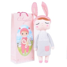 13 Inch kawaii Plush Soft Stuffed Animals Baby Kids Toys for Girls Children Birthday Christmas Gift Angela Rabbit Metoo Doll(China)