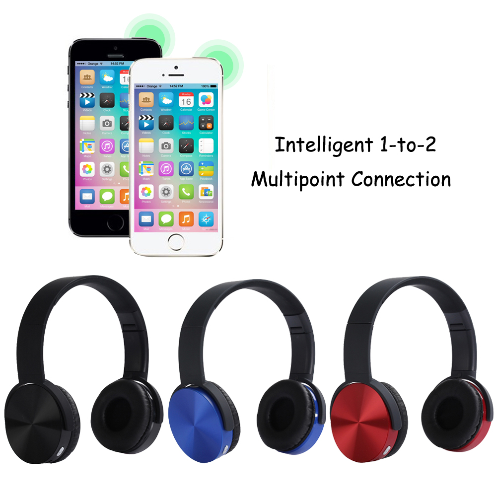 New Wireless Bluetooth v4.1Headset BT4.1 Stereo headphones  wireless headset for phones music tablet<br><br>Aliexpress
