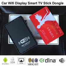 TV Stick Car WiFi Display Dongle  Receiver Linux System Airplay Mirroring Miracast DLNA for IOS 10 Windows Android in Stock