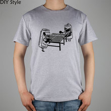 Funny Bl Table Ping Pong Beer Pong t-shirt Cotton Lycra Top 10989 Fashion Brand T Shirt Men New High Quality