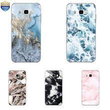 For Samsung Galaxy J5 (2016) Phone Case For Galaxy J5 2015 Shell For Galaxy J5 Prime / ON5 (2016) TPU Marble Lines Design