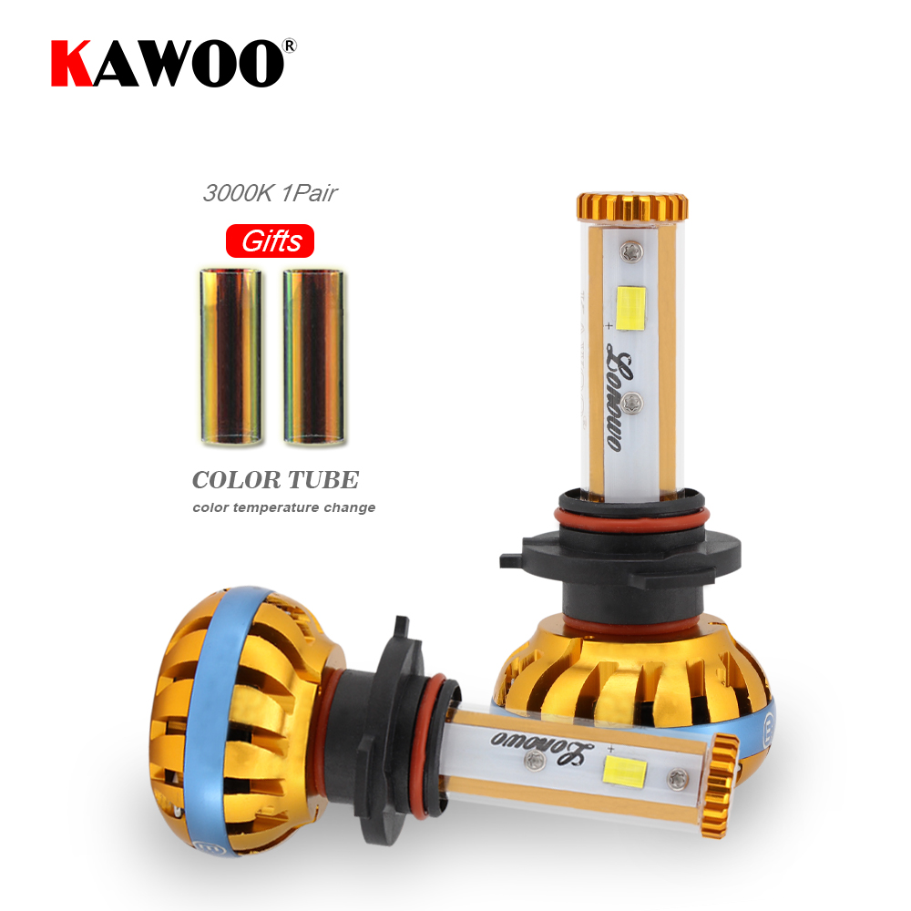 KAWOO Car LED Headlight 9006 HB4 Lonowo Lamp 72W 6000K 8000LM Automobile Headlamp Auto LED Light Diy Color Temperature Styling<br>