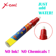Red Drawing Pen / Doodle Magic Pen / Water Drawing marker without cover cap / just add water