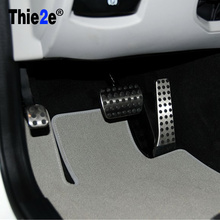 Stainless Steel NO DRILL Car Fuel Brake Foot Pedals Mercedes Benz MT C E S GLK SLK CLS SL Class W203/W204/W211/W212/W210 - SupplementFacts Store store