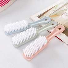 Plastic solid color Kitchen Wash Washing Tool Bowl Palm Brush Shoe Scrubber Cleaning Cleaner Small brush wash brush