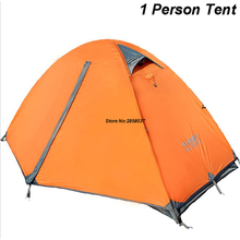 1.8KG Unti-UV Ultralight Tent 1 Single Person Double Layers Travel Fishing Beach Camping Tent Outdoor Tents Camping High Quality