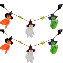 Halloween Lovely Ghost Doll Hanging Decoration Party Hanging Decoration Supplies Centerpieces Cloth Ghost High Quality