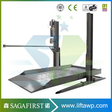 1.9m lifting height factory supply two post car lift with low price(China)