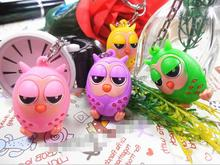 20pc Silicone Owl key ring Baptism Girl boy Baby Shower Souvenirs Event Party Supplies Wedding Favors Gifts For Guest(China)