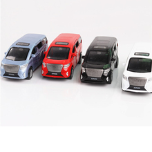 1/32 Toyota Alphard MPV Car Model Pull Back Sound Light Simulation Metal Diecast Gifts  Collections Toys