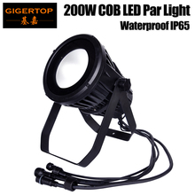 Gigertop TP-P108 Waterproof 200W COB Led Par Light Cold White/Warm White/RGBW/RGBWA UV Color Outdoor LED Par Can Stage Light
