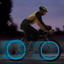 2 Pcs/Set Bike Bicycle Cycling Wheel Spoke Wire Tyre LED Light Bright Flash Lamp Supplies ALS88